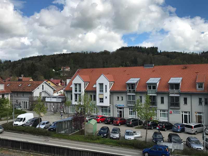 Blick zur Innenstadt in Immenstadt